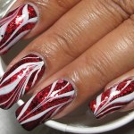 Show Off Your Bacon Love With This Stylish Glammed Bacon Water Marble Design