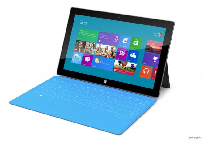 Microsoft 自社開発のタブレット「Surface」について