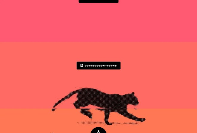 デザイナー Andrew McCarthy さんのサイト | イケてるサイトデザイン