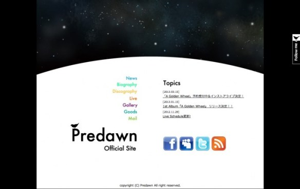 Predawn official website