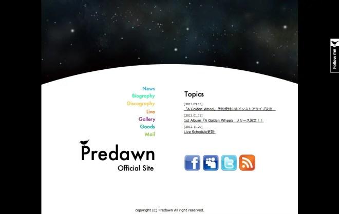 Predawn official website