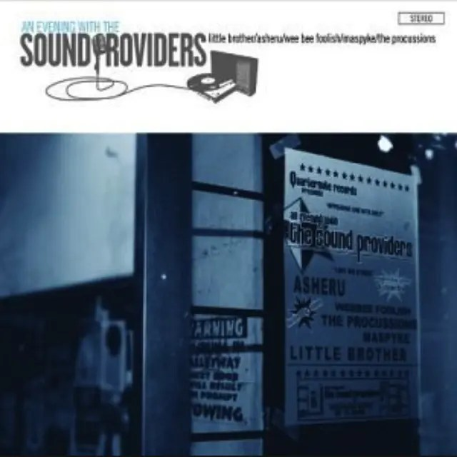 The Sound Providers「An Evening With The Sound Providers」 | オシャレなヒップホップの代名詞といえる名作