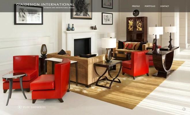 G A Design International グラマラスなデザインばかりの設計事務所   海外のイケてるサイトデザイン