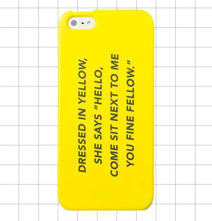 Kate Spade Saturday IPHONE 5 CASE IN FINE FELLOW