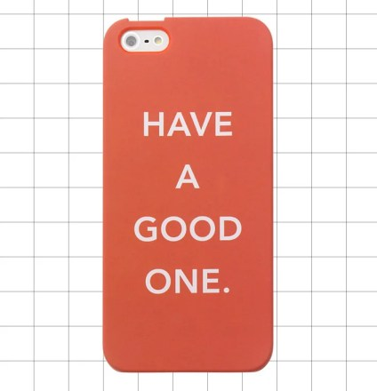 Kate Spade Saturday IPHONE 5 CASE IN GOOD ONE