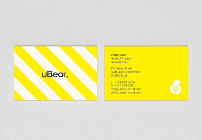 都会のクマがアイコンの iPhone、Mac アクセサリブランド「uBear」