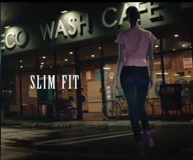 Kiko Mizuhara EDWIN SOMETHING SLIM FIT AND BOYS FIT 05