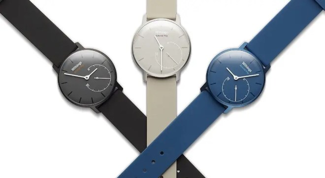 Withings Activité Pop Shark Grey、Bright Azure、Elegant Sand の3色展開