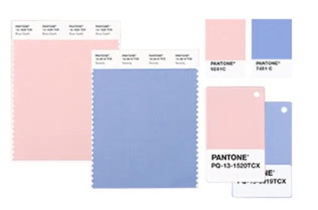 PANTONE® 2016年の流行色は「ローズクオーツ&セレニティー」の2 ...