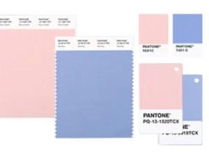 PANTONE® 2016年の流行色は「ローズクオーツ&セレニティー」の2色組み合わせ
