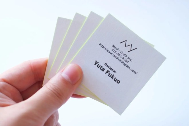 Manic Youth Inc. Business Card 2016