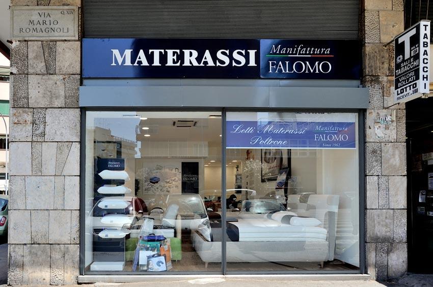 Arredamenti specializzati per il buon riposo. Negozio Materassi Roma Manifattura Falomo Roma Piazza Balduina Manifattura Falomo