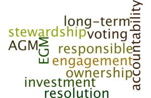 stewardship code, ESG, Sustainability