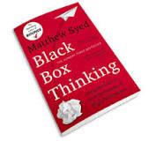 Image of book cover Black Box Thinking