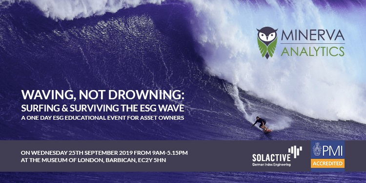 Minerva ESG Event - Helping Asset Owners Survive the ESG Wave