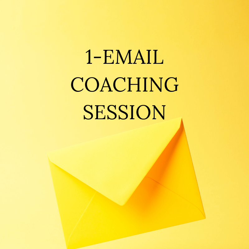 1-Email Coaching Session