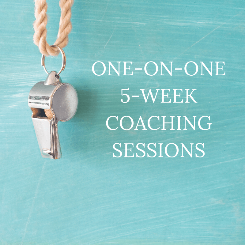 5-Week Coaching Sessions