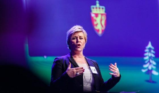 Frp-formann Siv Jensen. Foto: Norsk Olje og Gass/Flickr