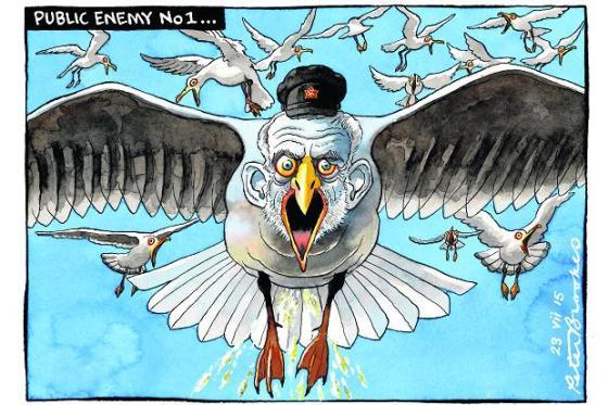 Corbyn-karikatur. Foto: norbet1