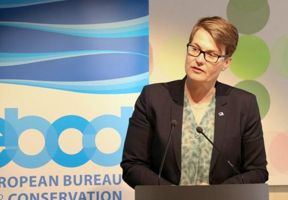 Klima- og miljøminister Tine Sundtoft. Foto: Mission of Norway