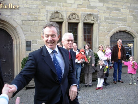 Tidlegare leiar Tony Blair. Foto: Jens-Olaf Walter