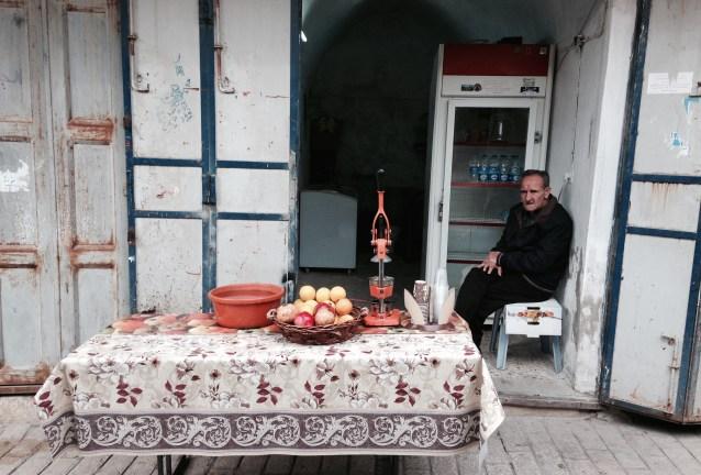 En kafé i Gamlebyen. Foto: Francesca Borri