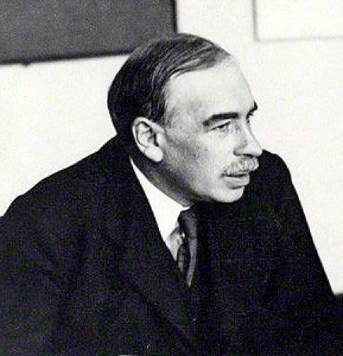 John Maynard Keynes. Foto: wikimedia