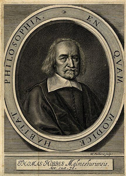 Økonomenes filosof Thomas Hobbes. Foto: Wikimedia