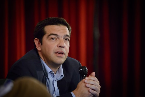 Hellas' statsminister Alexis Tsipras. Foto: Matthew Tsimitak