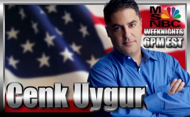 """MSNBCs TV-personlighet Cenk Uygur måtte finne seg en annen jobb. I dag leder han """"The young turks"""", verdens største online aktualitetsprogram. Foto: Mike Nitro"""