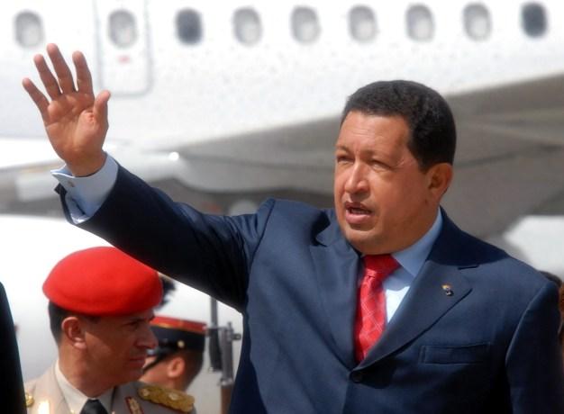 Venstrebølgens leder fra forrige generasjon, Hugo Chavez. Foto: UKBERRI.NET
