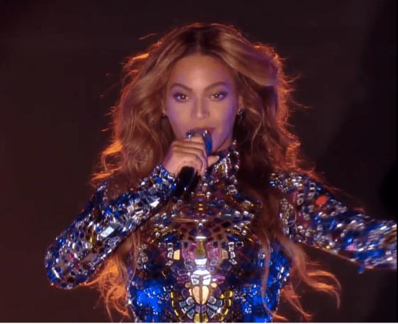 Beyoncé på Video Music Awards 2014. Foto: Vimeo
