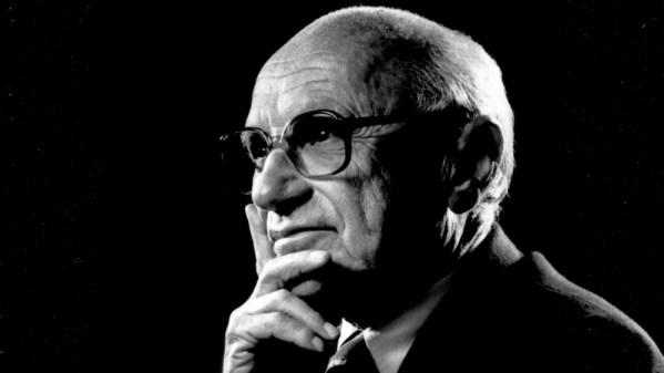 Milton Friedman. Foto: Wikimedia Commons