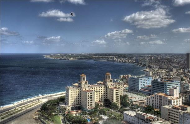 Oversiktsbilde over Cubas hovedstad Havanna. Foto: Romtomtom