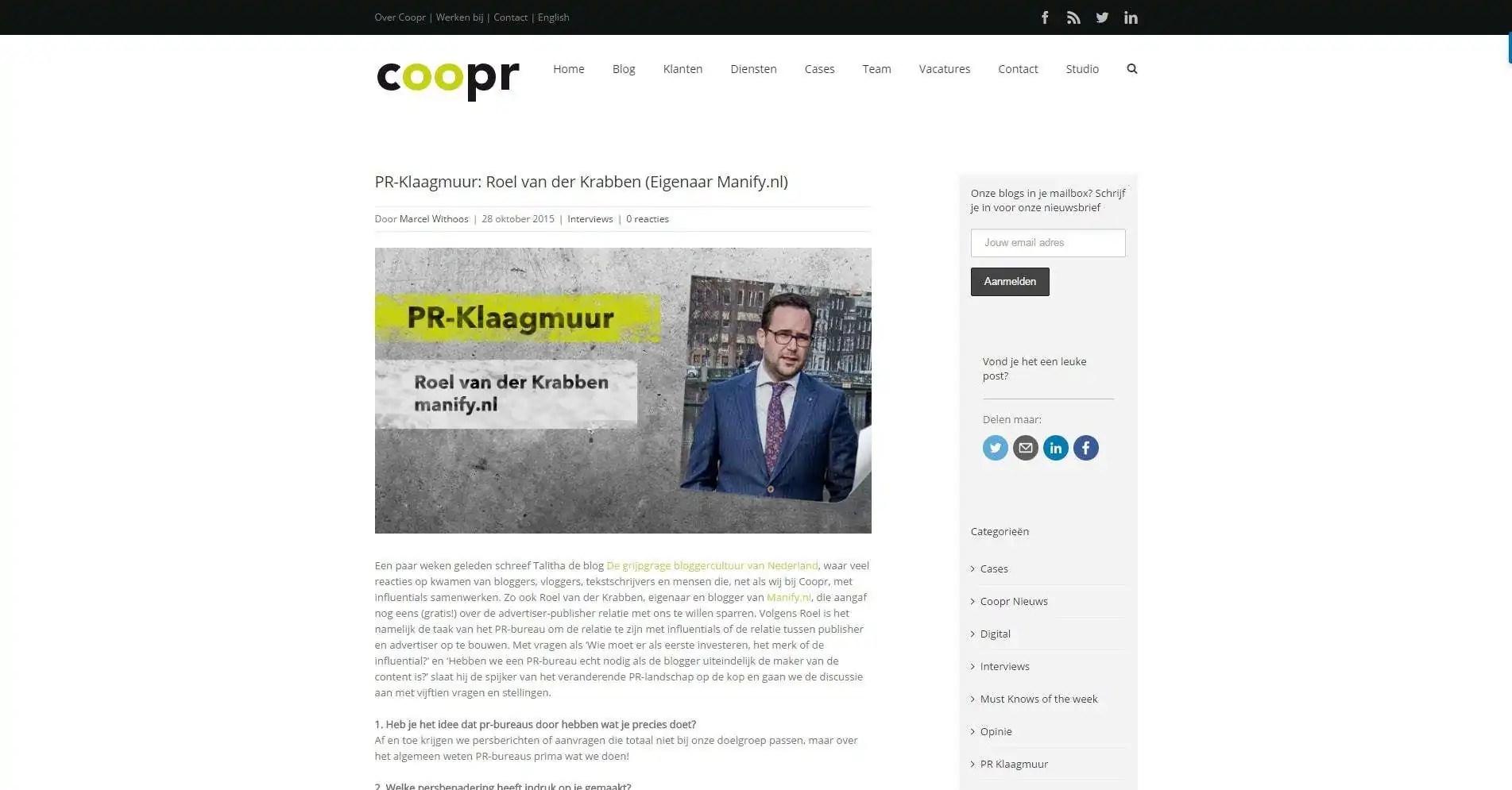 FireShot Capture 128 – PR-Klaagmuur_ R_ – http___www.coopr.nl_blog_pr-klaagmuur-roel-van-der-krabben