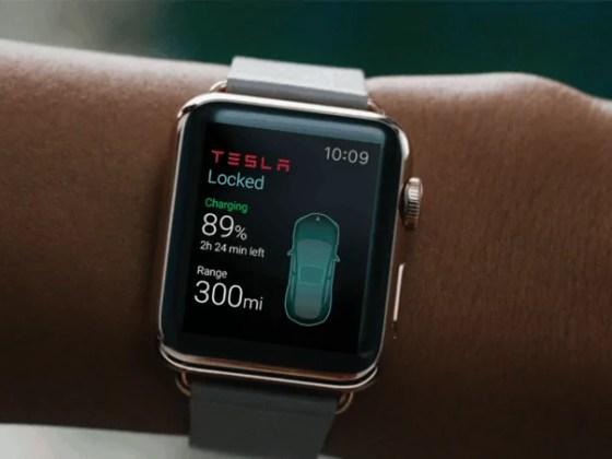 Tesla Apple watch app - blessthisstuff.com