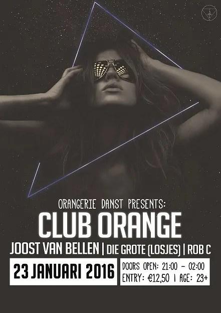Poster Club Orange, LR