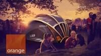 Orange Solar Tent: de ultieme festivaltent