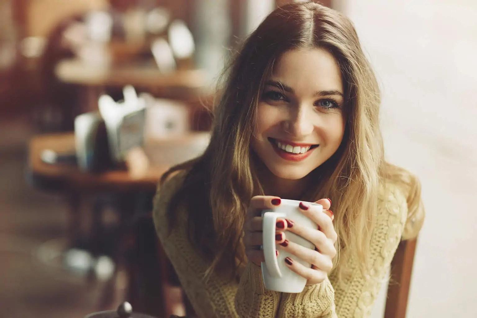 Koffie meisje