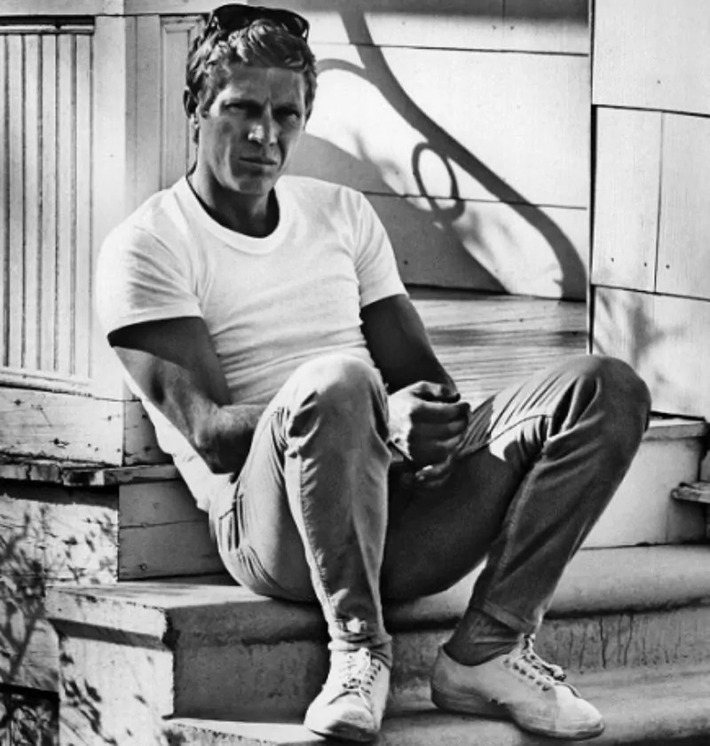 be like steve mcqueen. Black Bedroom Furniture Sets. Home Design Ideas