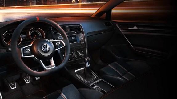 Volkswagen Golf GTI Clubsport interieur