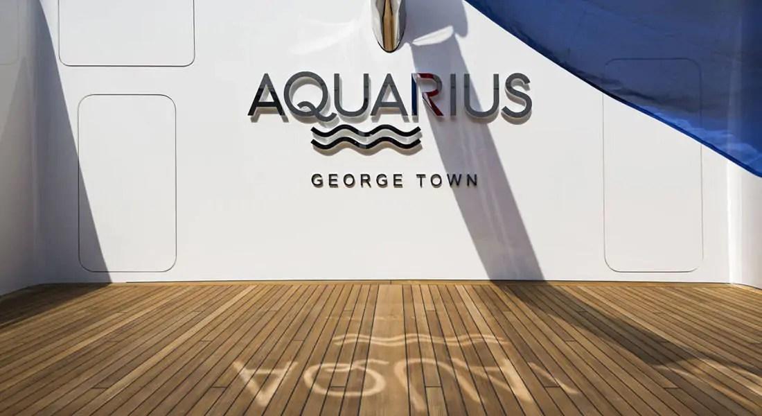 superjacht aquarius logo