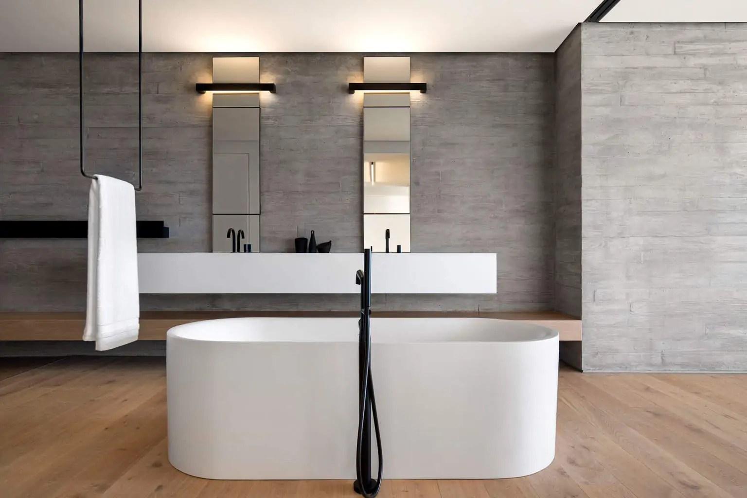 Interior inspiration minimalistische badkamers manify