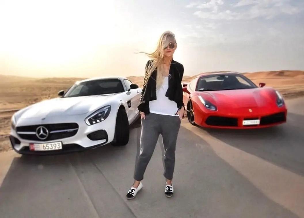 super car blondie