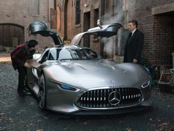 Bruce Wayne Mercedes