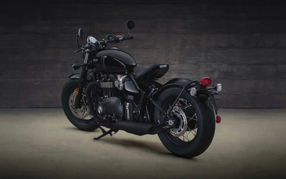 Bonneville Bobber Black Edition