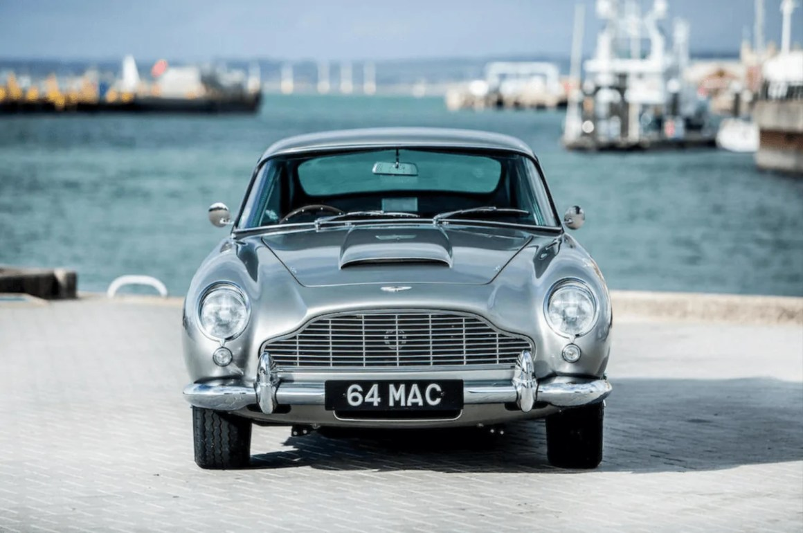 Paul McCartney's Aston Martin 1964 DB5