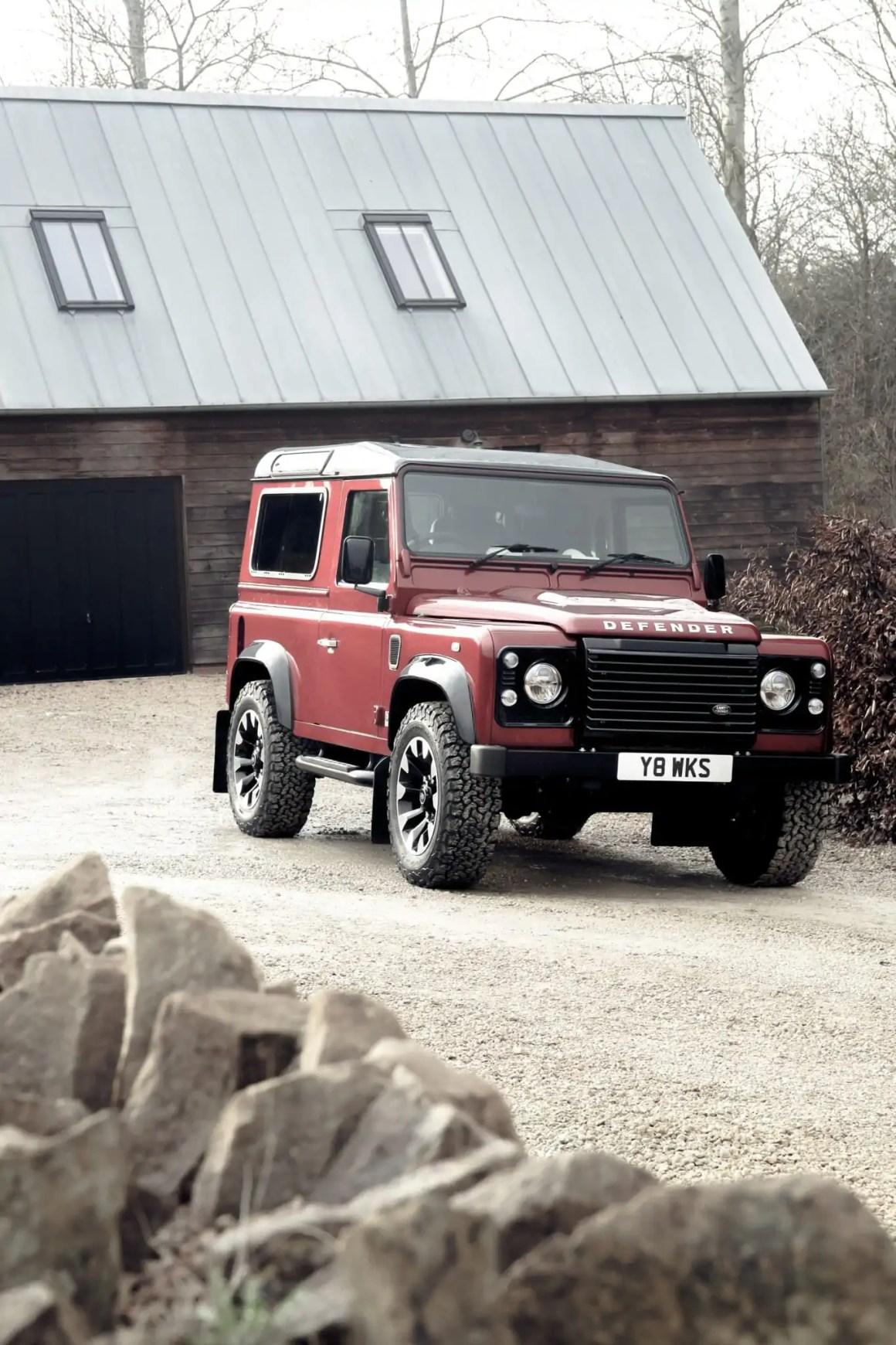 Land Rover Defender Works