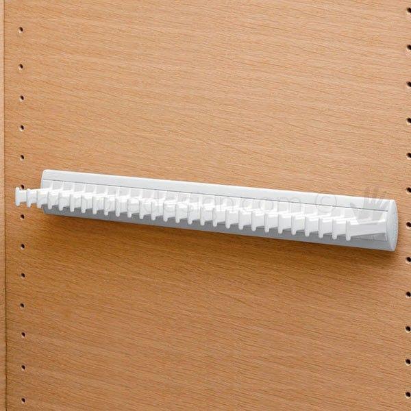Portacravatte fisso Servetto per armadio 28 ganci