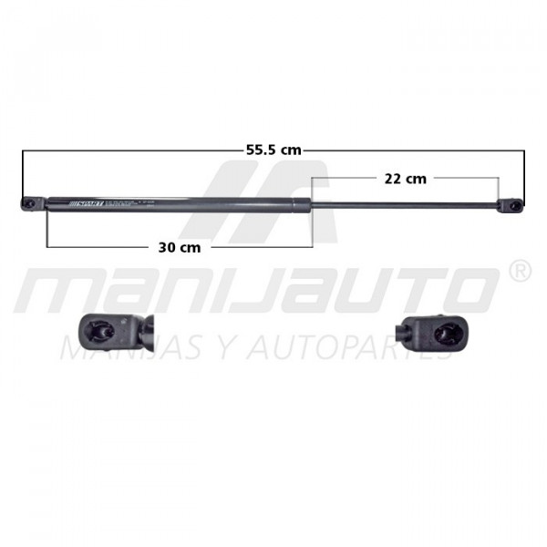Amortiguador Vidrio Trasero ASTRO VAN CHEVROLET 33382